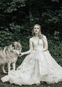 bride with wolf 2