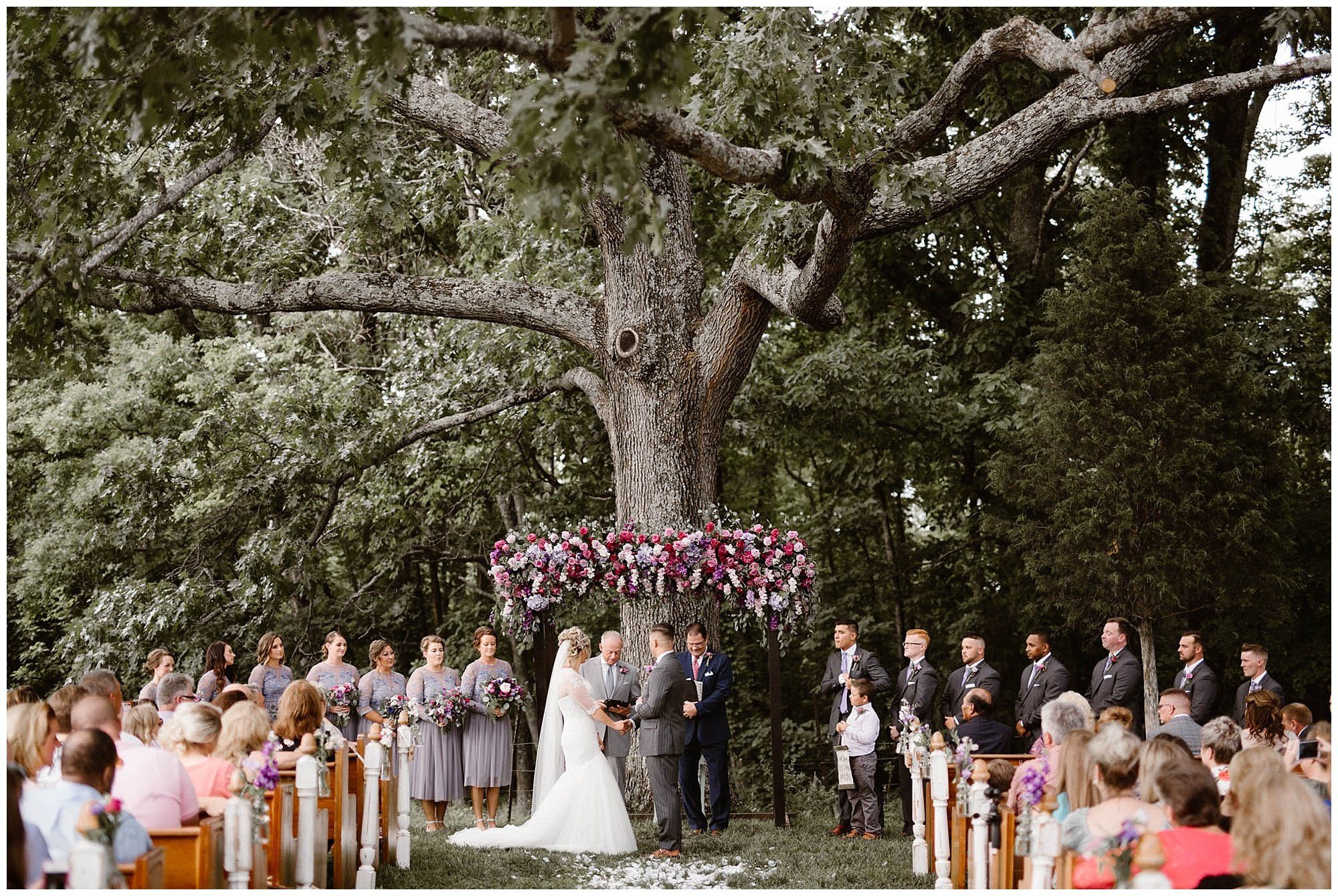Saying Vows Under the Old Oak