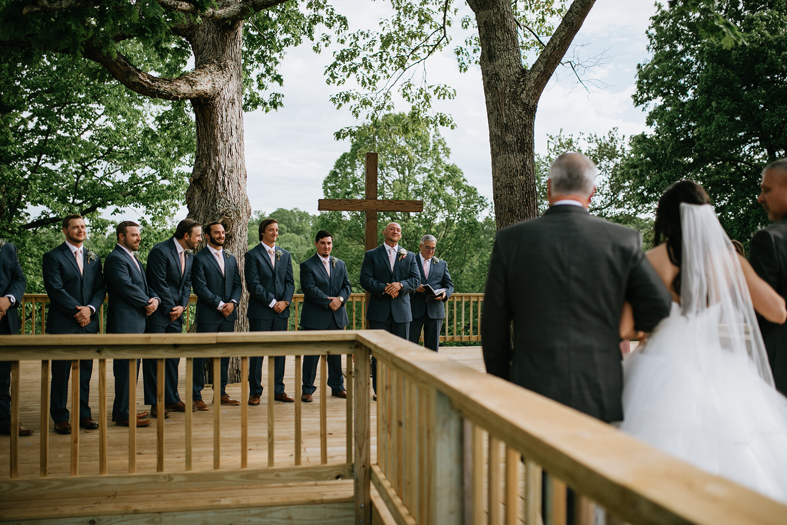 tree deck wedding 3