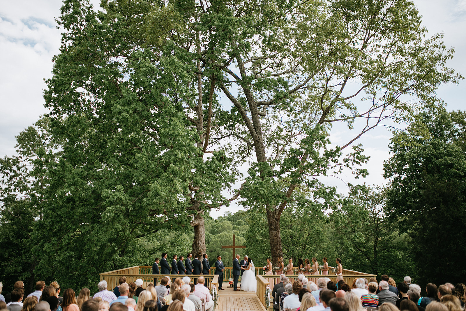 tree deck wedding 6