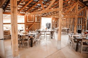 lovely barn reception